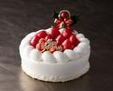 クリスマス ストロベリーショートケーキ Christmas Strawberry Short Cake 6号(18cm)