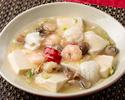 Stewed seafood and tofu