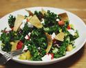 ケールとロメインのサラダ