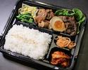 【テイクアウト】黒毛和牛焼肉とホルモンすき焼き弁当