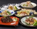 【お酒解禁記念!!】《かつをの藁焼きとお造り》食べ比べ食事プラン 鳴子コース 13品