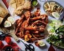 【TOGO事前決済】🦐海老と🦀蟹の手づかみランチコンボセット