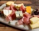 【SHUGAR 新宿店】時間無制限♪昼飲み生ハムとチーズのおつまみ付きプラン🧀