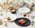 【★Xmas2020★】クリスマス特製デザート&乾杯酒付き!前菜メインが選べるクリスマスランチコース