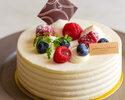 レアチーズケーキ 約12㎝(4名様程度)