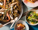 【Holiday Lunch】 Booking for paella lunch course with free flow drinks for 2 hours