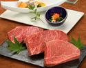 ≪鉄板焼≫特選銘柄牛ランチコース(山形牛フィレ)