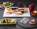 日本料理「さくら」テーブル席で楽しむ寿司 クリスマススペシャルコース