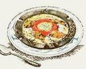 チキンと半熟玉子のドリア