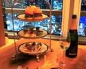 【ラウンジ&バー】ミニバーガーを含む8種のカナッペ+選べるメイン+グラススパークリング