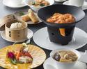 ◆フカヒレのスープとエビチリのチーズフォンデュ風火鍋コースに2ドリンクまで付けられる特別プラン全6品!!