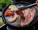 サムギョプサル食べ放題コース5500円(税込み)