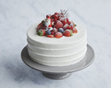【Lily cakes】クリスマスショートケーキ 4号