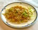 蟹肉とレタス入り炒飯