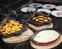 【12月:平日】ディナー!オープンキッチンからの出来立て料理が大人気!