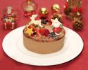 2021 厳選されたチョコレートのクリスマスケーキ