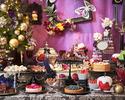 【おとな】12/24・12/25:【アップグレードコース】スイーツブッフェ ヴィランズたちのツイステッドゴシックパーティー ~Christmas Holiday~¥7,000(ディナー)