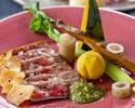"Teppannyaki Dinner course ""Fujibakama"""