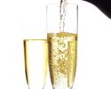 12/1~【シンガポールフード&クリスマススイーツ】平日ナシパダンランチ× 乾杯スパークリングワイン
