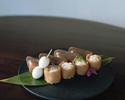 Konjac sushi combination serving