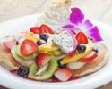 選べる!【パンケーキランチプラン】お好きなパンケーキが選べる♪サラダ、ポテトやスパムむすびも!食後のカフェ付き