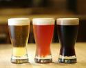 【フォアグラ使用の贅沢コース 鴨のローストなど選べるメイン全6品】+クラフトビール4種(tablecheck限定)含む2時間飲み放題
