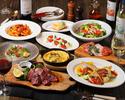 【プレミアムコース+150分飲み放題付き】牛・豚・鶏肉のグリルの盛り合わせにズッパ・ディ・ペッシェも楽しめる贅沢プレミアムコース!