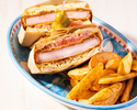 【平日ランチ】4種の選べるサンドウィッチ