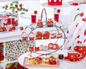 Strawberry Afternoon tea set