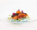 絹姫サーモンのマリネ+和牛の赤ワイン煮込みなど全5品のコース+食後のお飲み物(期間限定)