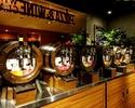 樽生スパークリング&ワインが特注カウンターで90min飲み放題
