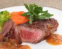 【HPベストレート★SHIKITEI】非日常空間で贅沢コース!ビーフ料理が選べる野菜をふんだんに使ったWメイン全5品フルコース