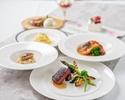 【心に残る1日に…】キャビア・フォアグラ・トリュフ・オマール海老・牛肉のグリル等全7品お祝いコース 7,650円