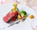 【SPECIAL LUNCH+2時間フリーフロー付】季節野菜の前菜や牛フィレ肉こだわりのドルチェ等 閑静な丘の上に佇むレストランで食す贅沢フルコースランチ(土日祝)
