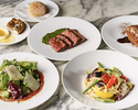[Weekday limited LUNCH COURSE] All 4 dishes with beef bresaola and selectable pasta main dessert