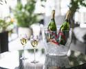 【土日祝プリフィクスランチ全5品】 選べる前菜&メイン2種など全5品+シャンパン含むフリーフロー(120分)