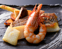 ★おススメ★【ランチ】◆黒潮-kuroshio-◆ 野菜と鮮魚・魚介がメインの鉄板焼♪  <<1日10食限定>>