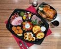 【Xmas】薪香る薩摩赤鶏のローストチキンとオードブルセット