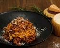 短角牛とトマトの煮込み ボローニャ風