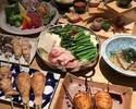 (新)串焼と鶏すき鍋コース6000円(2h飲み放題付き)