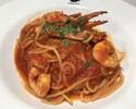 「Pasta ワタリ蟹とエビのトマトパスタ」 ※11:30時以降の受取り