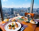 As much as you like the special Dolce !!! Panorama  lunch course [2 hours all-you-can-drink included]