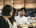 DINNER  【飲】ご友人と楽しむ飲み放題メインコース全5皿 -テーブル席限定-