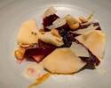 【TakeOut】Burrata Cheese & Roasted Beets, Pear, Hazelnut Vinaigrette