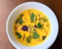 【TakeOut】Roasted Butternut Squash Soup, Spice Nuts, Herb