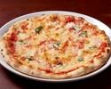 【テイクアウト】トマトとバジルのシンプルなピッツァ