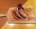 【テイクアウト】北海道産4種ソーセージとベーコンのグリル