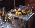 【Pコース】玉手箱デザート『プレミアムコース』特別な日に豪華食材で(1人1皿フルコース)