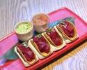 Sashimi Mini Tacos 4pieces (choice of Tuna, Salmon)