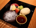 NOBU Chocolate Bento Box with Sesame Ice Cream
